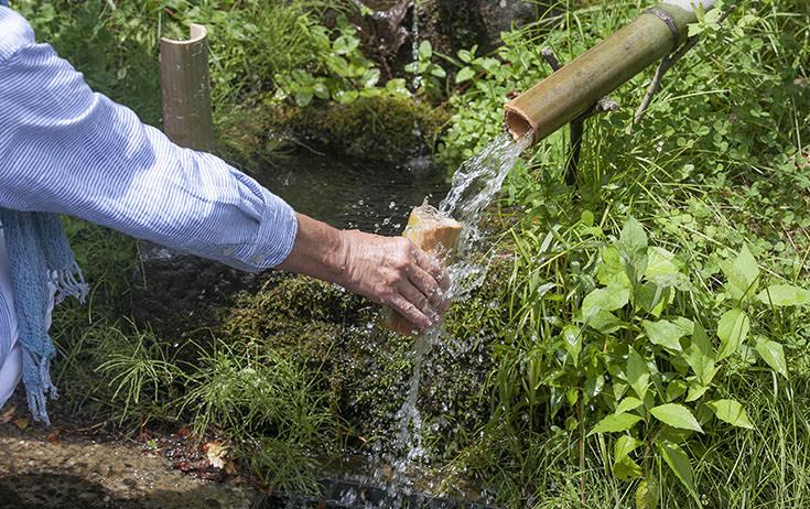 ぶらぶら、鹿沢温泉散策。